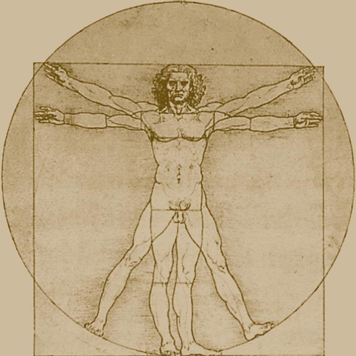 Leonardo da Vinci: Vitruvijski človek