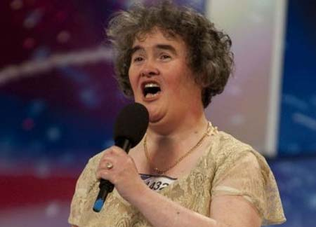 Susan Boyle med nastopom v oddaji Britain's Got Talent
