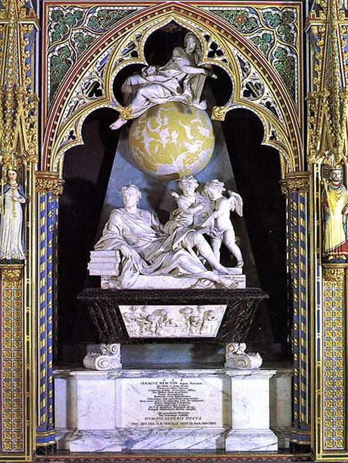 grob Isaaca Newtona